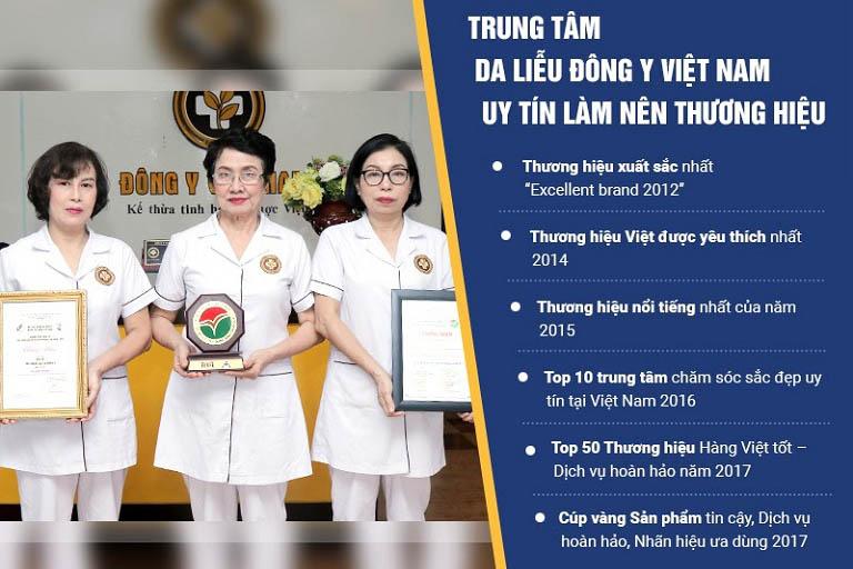 Trung tâm Da liễu Đông y Việt Nam - đơn vị chăm sóc, trị liệu da bằng y học cổ truyền uy tín hàng đầu Việt Nam