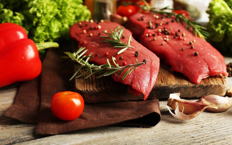Người bệnh không nên ăn các loại thịt đỏ khi bị bệnh
