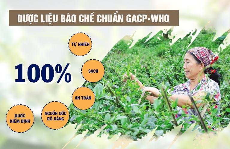 Với thành phần 100% thảo dược thiên nhiên, An Bì Thang đảm bảo an toàn cho người bệnh