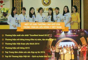 Viện Da liễu Hà Nội - Sài Gòn dành được nhiều giải thưởng danh giá trong suốt quá trình hoạt động
