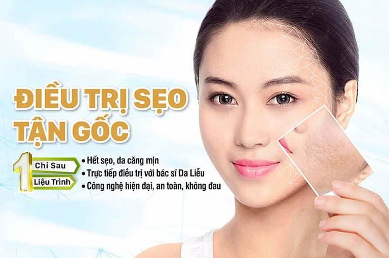 Giải pháp điều trị sẹo tối ưu tại Viện Da liễu Hà Nội - Sài Gòn