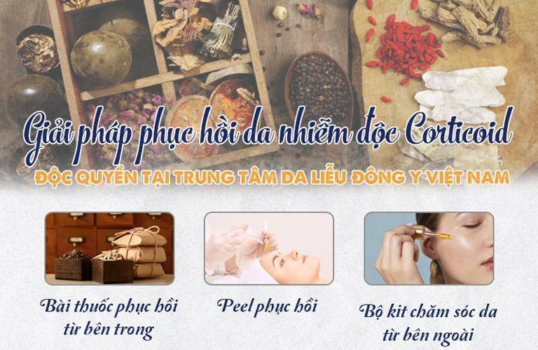 Phương pháp điều trị da nhiễm Corticoid hiệu quả đến 90% tại Viện Da liễu Hà Nội - Sài Gòn