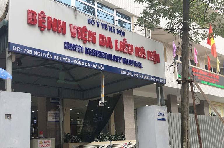 Bệnh viện Da liễu Hà Nội khám chữa nhiều bệnh về da