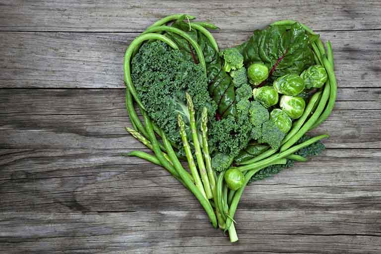 Ăn nhiều rau xanh rất tốt cho da cũng như tốt cho sức khỏe