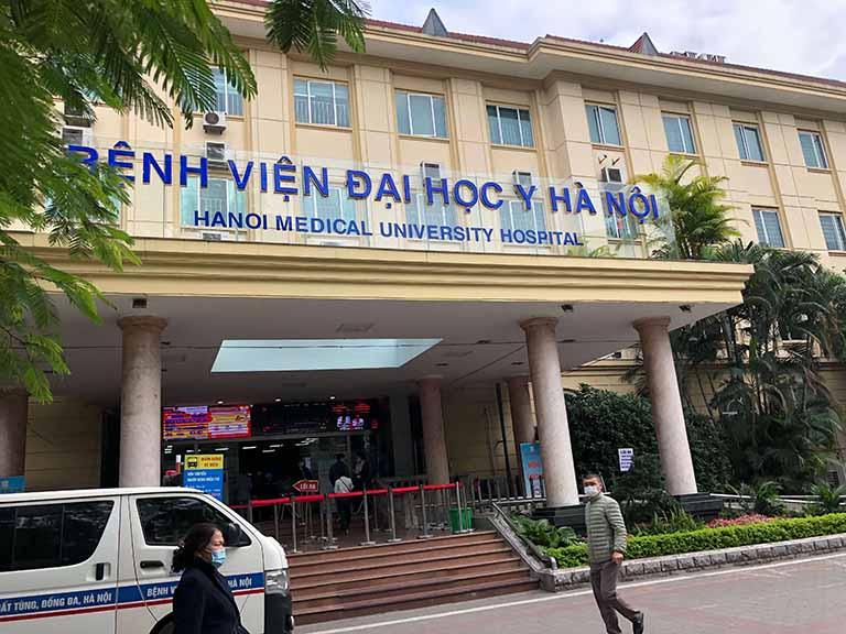 Phòng khám số 1 trực thuộc Bệnh viện Đại học Y Hà Nội có chuyên khoa Da liễu được nhiều người bệnh tìm đến khám chữa