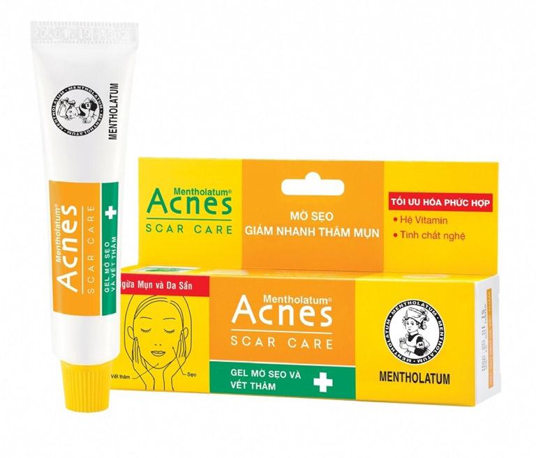 Kem trị mụn thâm giá rẻ đến từ Nhật Bản Acnes Scar Care