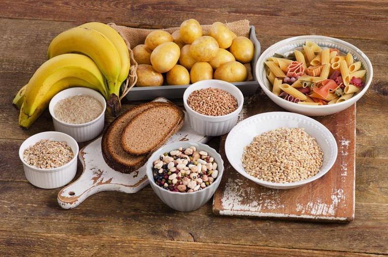 Nên hạn chế sử dụng đồ ăn có nhiều tinh bột