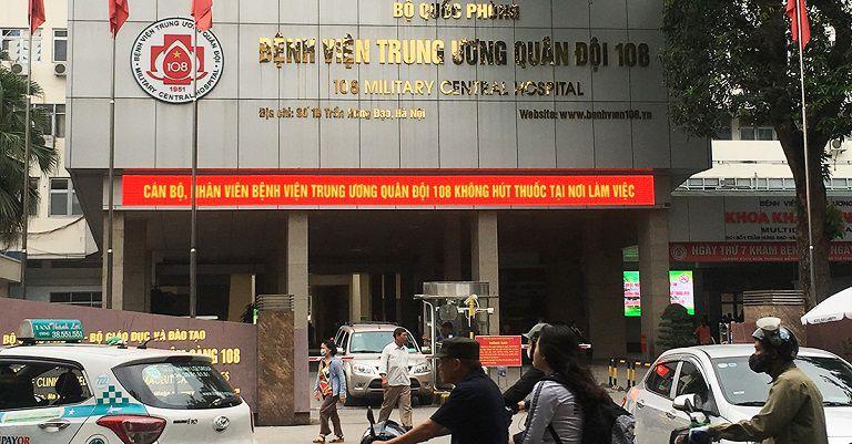 Người bệnh có thể đến khám da liễu tại Bệnh viện Trung ương Quân đội 108