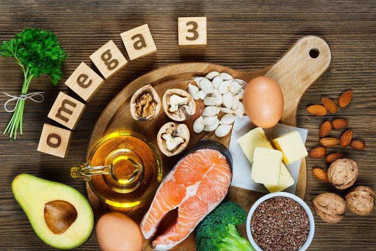 Người bị mụn nên bổ sung các loại thực phẩm chứa hàm lượng omega-3 cao
