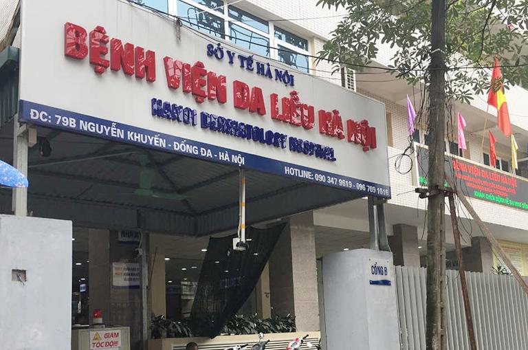 Bệnh viện da liễu Hà Nội là địa chỉ trị các bệnh da liễu uy tín mà bạn nên ghé qua
