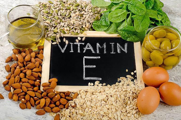 Thực phẩm giàu Vitamin E rất tốt cho người bị sẹo lồi