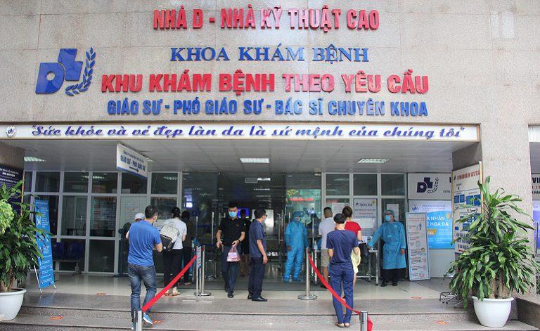 Bệnh viện da liễu Trung ương là địa chỉ thăm khám da liễu mà bạn nên ghé qua