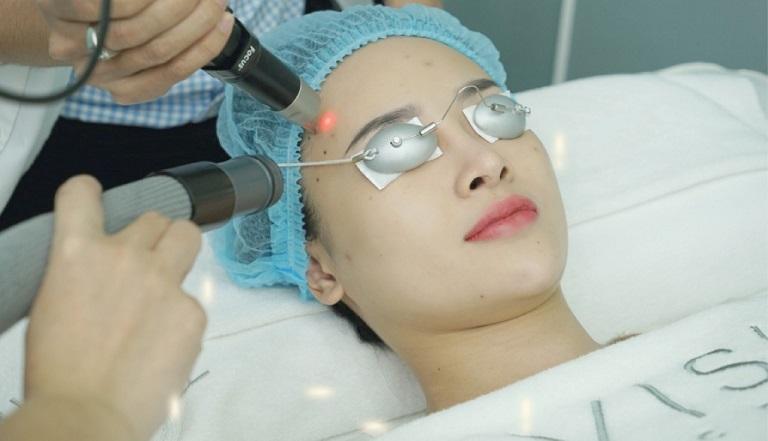 Trị sẹo bằng laser là một phương pháp mới, hiện đại được ứng dụng nhiều trong da liễu thẩm mỹ