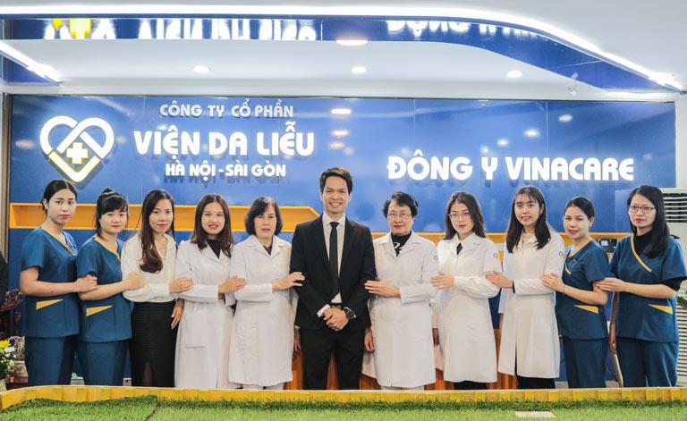 Viện Da liễu Hà Nội - Sài Gòn - Nơi tập trung các chuyên gia da liễu giàu kinh nghiệm