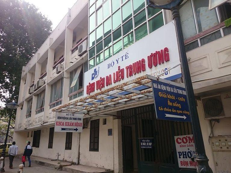 Bệnh viện da liễu Hà Nội là địa chỉ điều trị chứng chàm da vô cùng hiệu quả