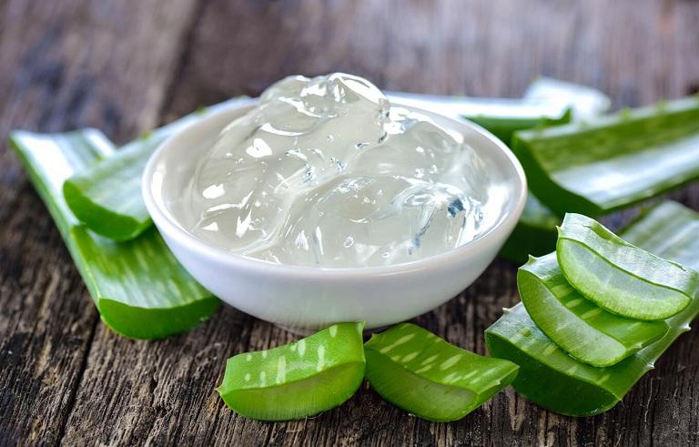 Nha đam là nguyên liệu giúp kháng viêm, làm mềm và mịn da
