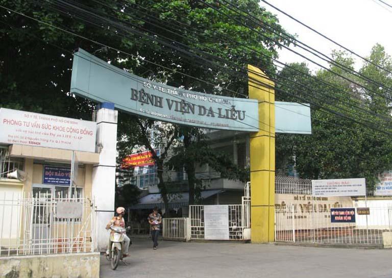 Người dân khu vực Sài Gòn có thể điều trị nám bằng lăn kim tại bệnh viện Da liễu TPHCM