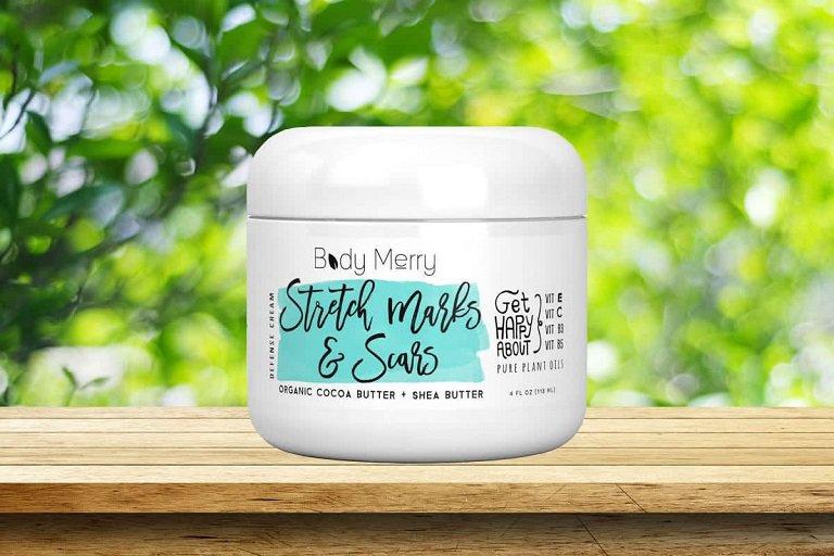 Kem bôi Body Merry Stretch Marks And Scars Defense Cream
