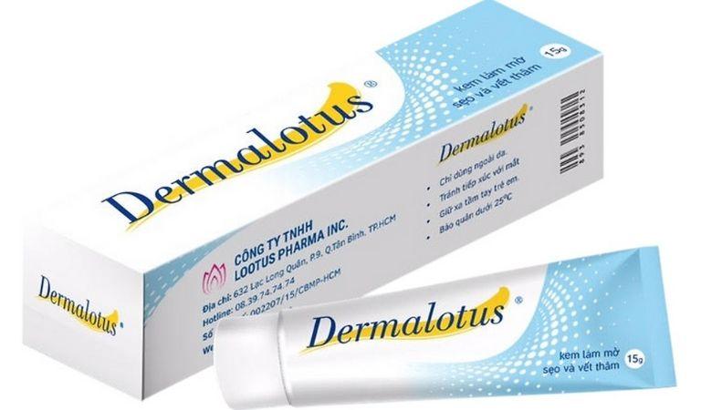 Loại kem trị sẹo này được sản xuất bởi Công ty TNHH Lotus Pharma Inc