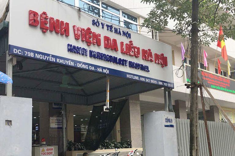 Bệnh viện Da liễu Hà Nội là địa chỉ lăn kim trị sẹo được nhiều người tin tưởng
