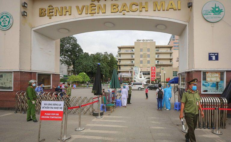 Bệnh viện Bạch Mai là một địa chỉ điều trị các vấn đề về da liễu
