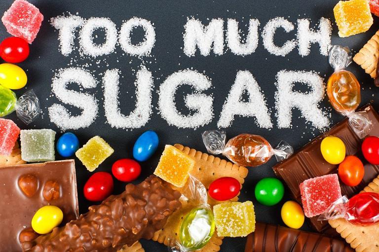 Các loại thực phẩm nhiều đường không tốt cho quá trình phục hồi tế bào da bị tổn thương