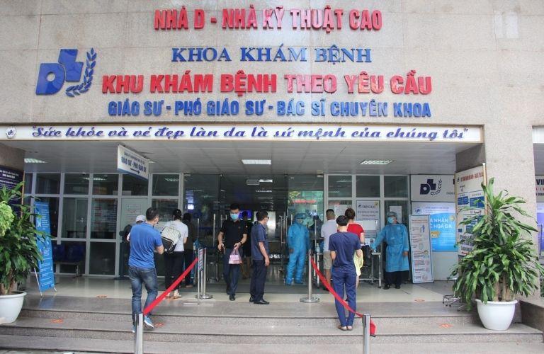 Bệnh viện Da liễu trung ương được đánh giá cao