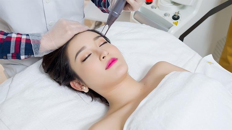 Công nghệ laser được ứng dụng nhiều trong điều trị sẹo, mụn, nám, tàn nhang