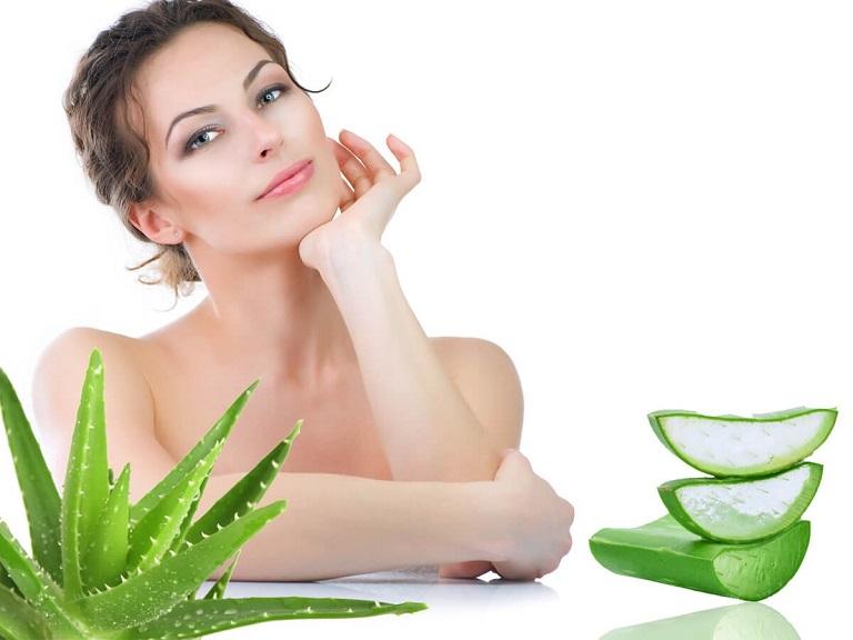 Gel nha đam được ứng dụng nhiều trong làm đẹp, đặt biệt là trị sẹo, trị mụn