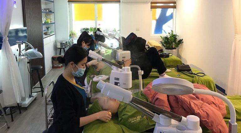 Viện da liễu Hà Nội Sài Gòn có hệ thống trang thiết bị vô cùng hiện đại