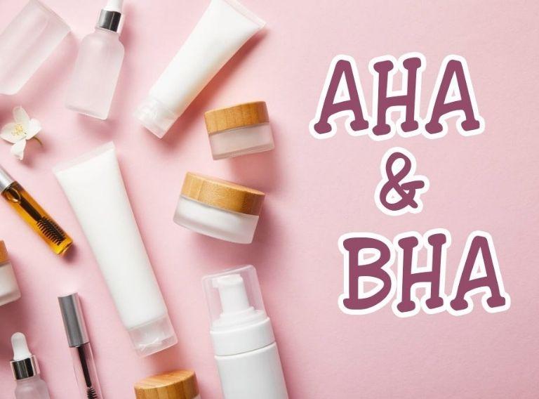 AHA, BHA là những hoạt chất được dùng phổ biến trong Peel da