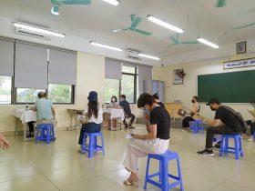 Viện Da liễu Hà Nội - Sài Gòn đã tiến hành tiêm chủng vaccine cho toàn thể CBNV
