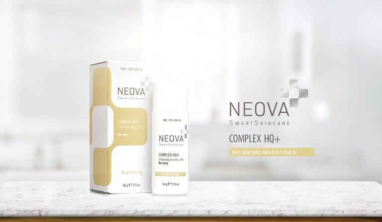 Sản phẩm trị nám, tàn nhang của Mỹ Neova Complex Hq Plus
