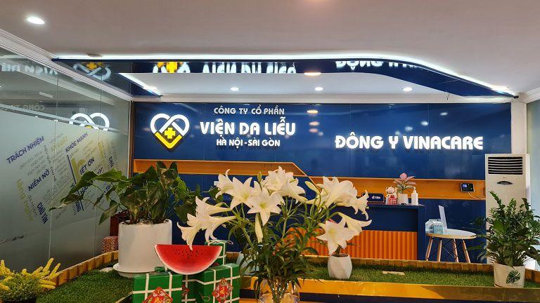 Viện da liễu Hà Nội - Sài Gòn là địa chỉ làm đẹp uy tín bạn nên ghé qua